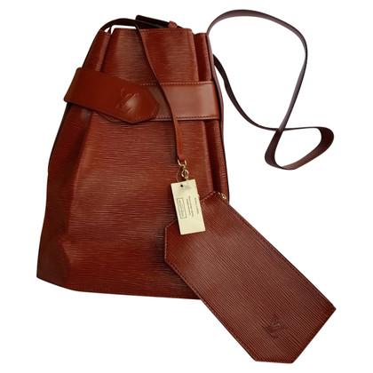 """Louis Vuitton """"Ca1d09e3 D'Épaule Epi leather"""" in Brown"""