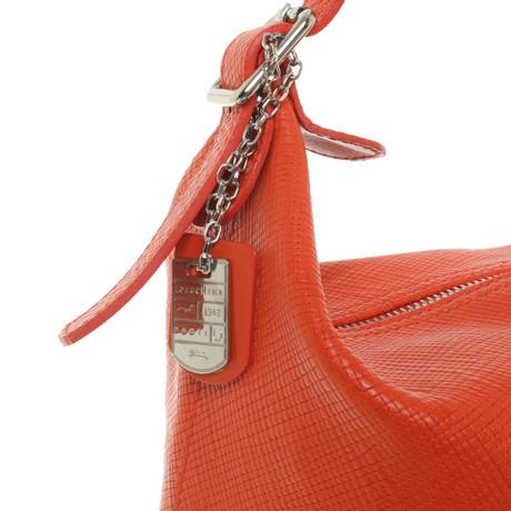 Longchamp Handtasche in Orange Orange Qualität Für Freies Verschiffen Verkauf Billige Ebay NUHYRzs56i