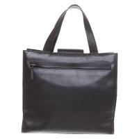 Gucci Leder-Handtasche in Braun
