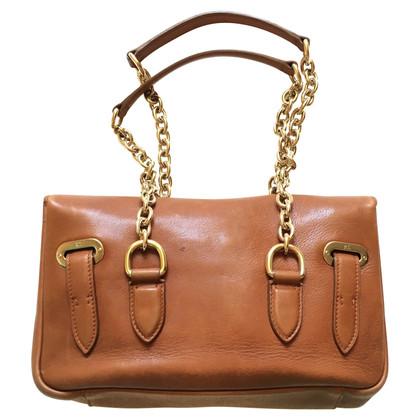 Ralph Lauren Ricky gouden ketting schouder tas