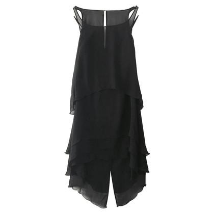 Karl Lagerfeld for H&M Black silk dress