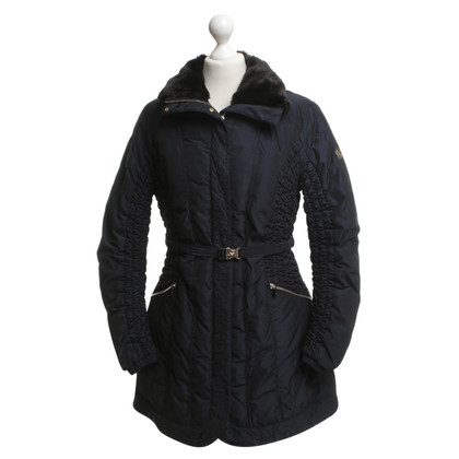 Armani Jeans Down coat with fur collar