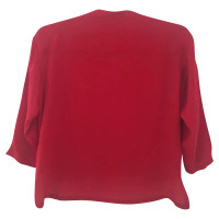 Michael Kors Red silk blouse