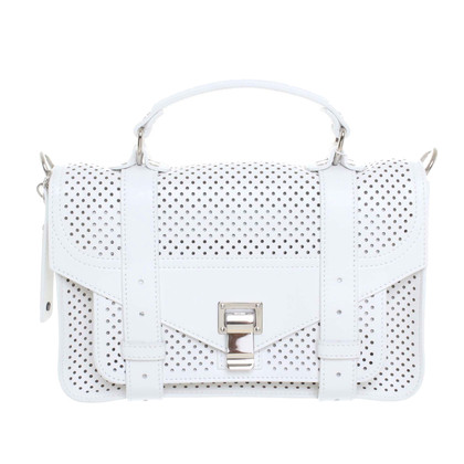 Proenza Schouler Perforated leather handbag