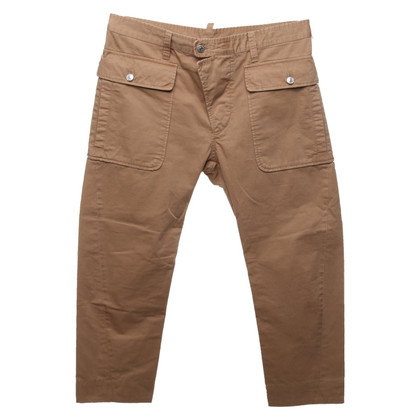 Dsquared2 trousers in light brown
