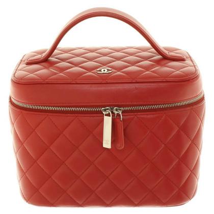 Chanel Beauty Case in Rot