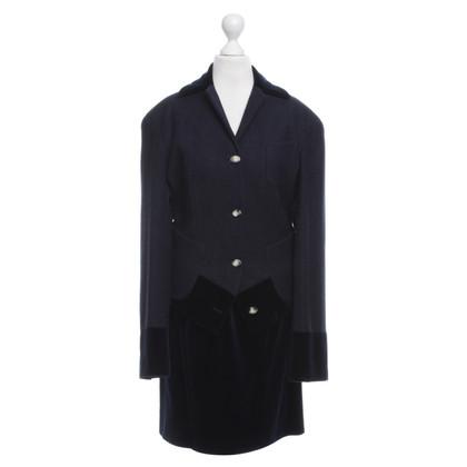 Vivienne Westwood lana costume / velluto