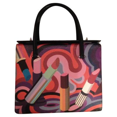 Prada Giardiniera Multicolor Canvas Tote - Second Hand Prada ... 5f8ad2ffc7ced