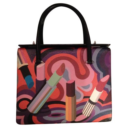 Prada Handbag made of Saffiano leather - Second Hand Prada Handbag ... 7044ef2df7883