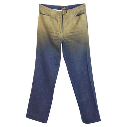 Fendi Fendi katoen blauwe jeans