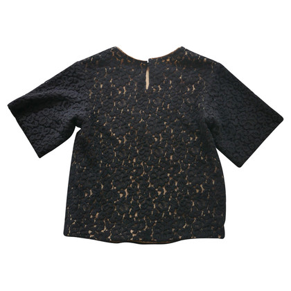 Chloé top crocheted lace