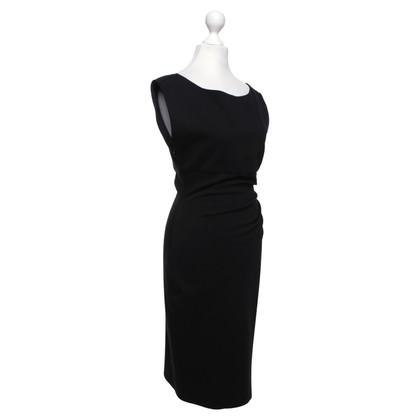 Diane von Furstenberg Figurbetontes Kleid in Schwarz
