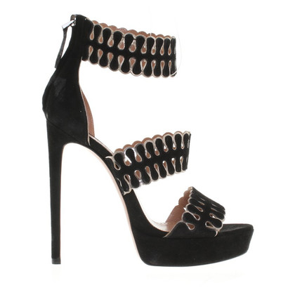 Alaïa High Heels with decorative straps