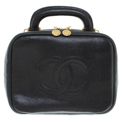 Chanel Jewelry bag in black