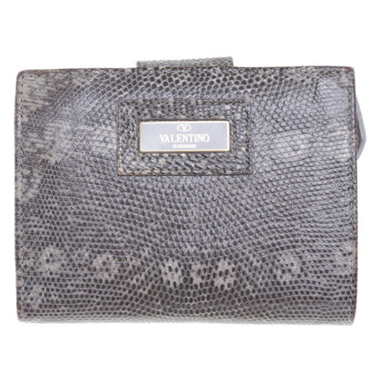 Valentino Reptile leather wallet