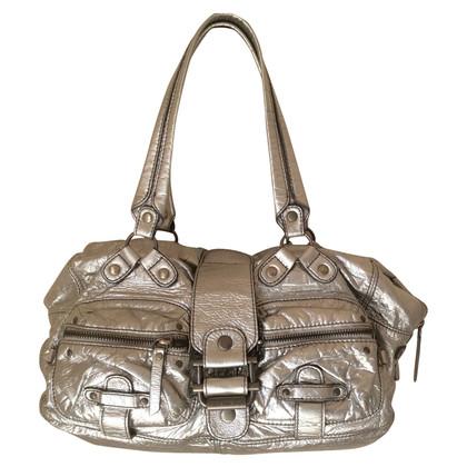 Calvin Klein Silver colored shoulder bag