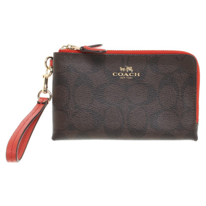 Coach Wallet with logo pattern