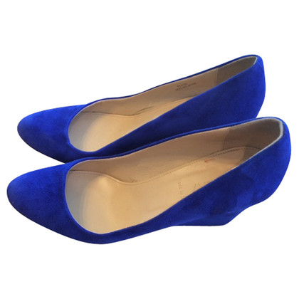 J. Crew Wedges blue