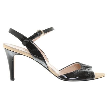 Bally Sandals in black / gold