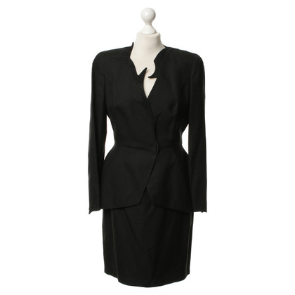Mugler Costume in black