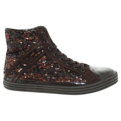 Hogan Sneakers with reversing sequins