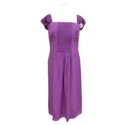 Akris Silk dress with insert