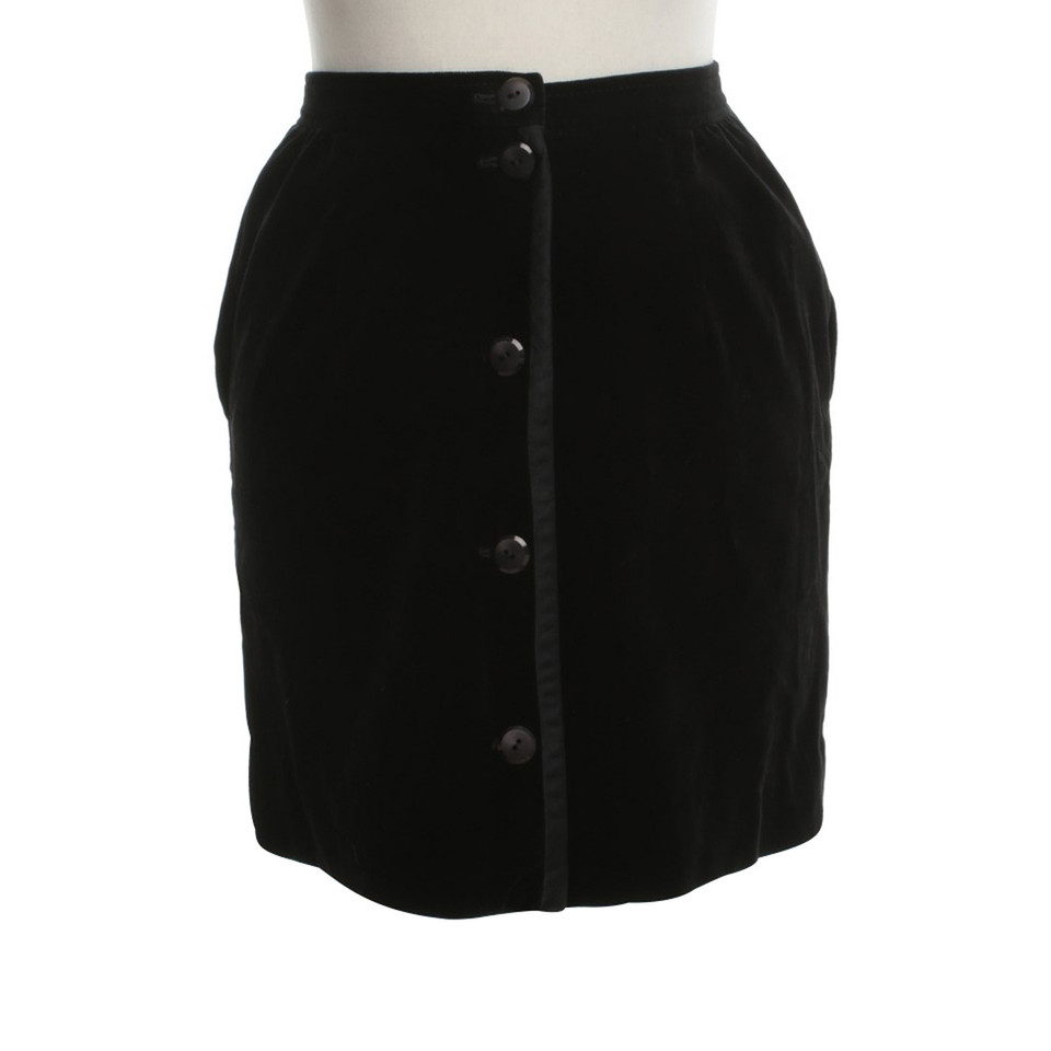 Valentino skirt in black