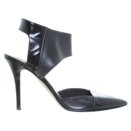 Hugo Boss Leather sandals in black