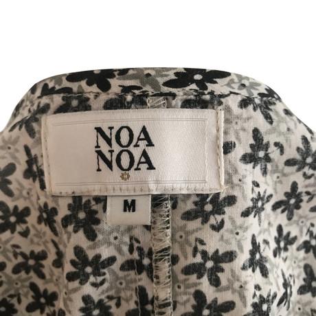 Muster Noa Bunt mit Muster Noa Kleid Kleid Noa Noa floralem Tw05Ufq