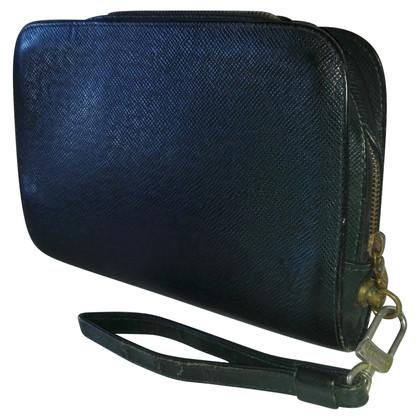 "Louis Vuitton ""Baikal clutch"" made of taiga leather"