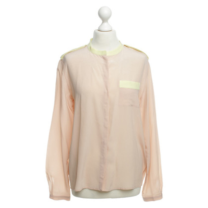 Max & Co Nudefarbene silk blouse
