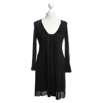 Patrizia Pepe Eenvoudige jurk in zwart