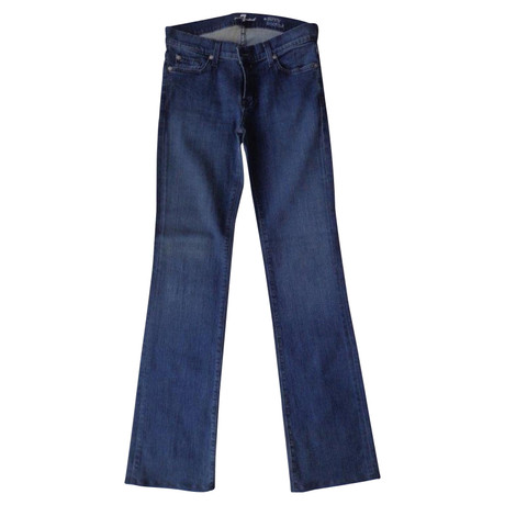 7 For All Mankind Jeans in Blau Andere Farbe Limitierte Auflage Auslass Besuch Neu Manchester 0ZDjVhpYwb