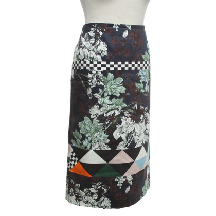 MSGM skirt with pattern