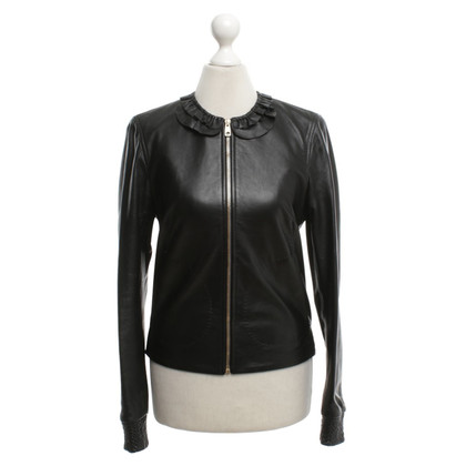 Bally Leather jacket in black