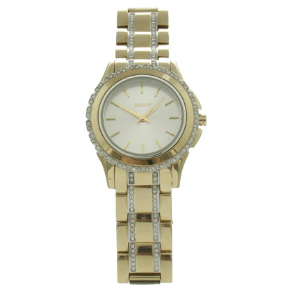 DKNY Watch in gold