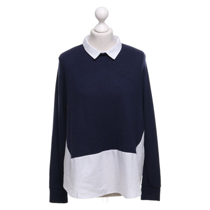 French Connection top in dark blue / white