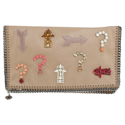 Stella McCartney Clutch aus Wildleder