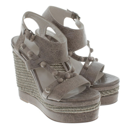 Balenciaga Wedges in grey