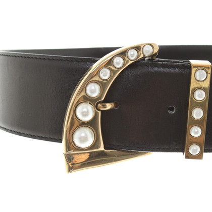 Gianni Versace Belt with pearls