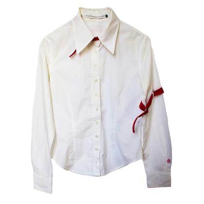 JC de Castelbajac chemisier blanc