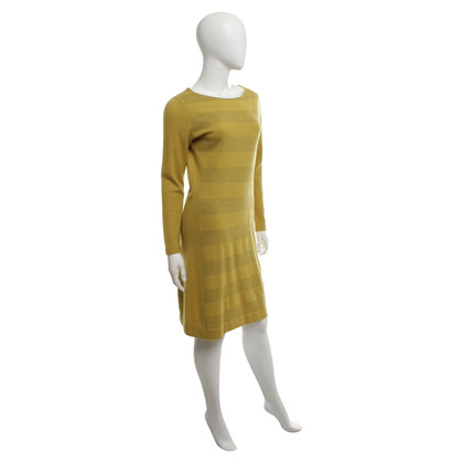 Luisa Cerano Knit dress in yellow-green