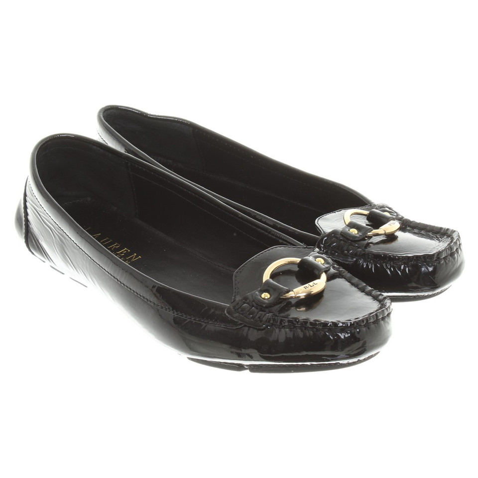 Ralph Lauren Moccasins made of patent leather