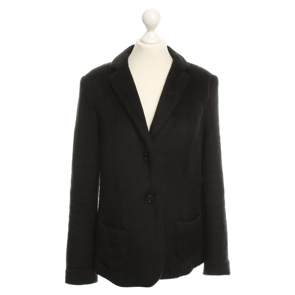 marc cain blazer in schwarz second hand marc cain blazer in schwarz gebraucht kaufen f r 70 00. Black Bedroom Furniture Sets. Home Design Ideas
