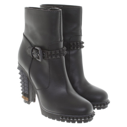 Fendi Ankle boots in black / grey