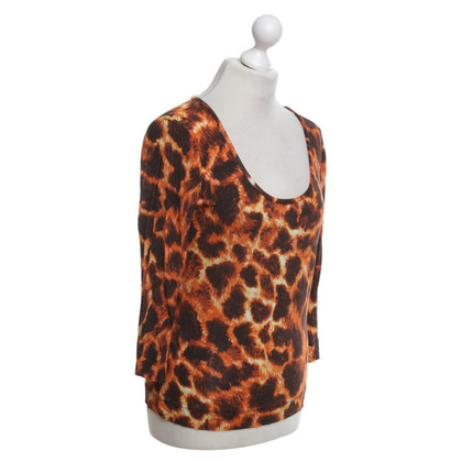 Just Cavalli Top in Animal-Look