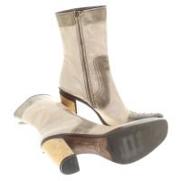 Miu Miu Boots in cream white
