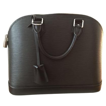 "Louis Vuitton ""Alma PM Epi Leder"" in Schwarz"