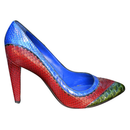 Sergio Rossi pumps made of snakeskin