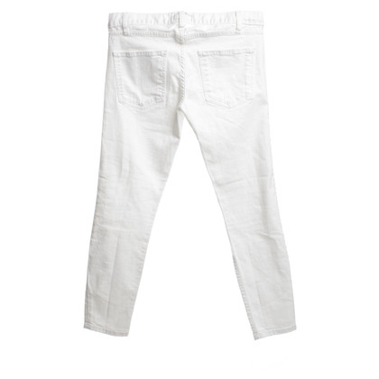 Current Elliott Jeans in White